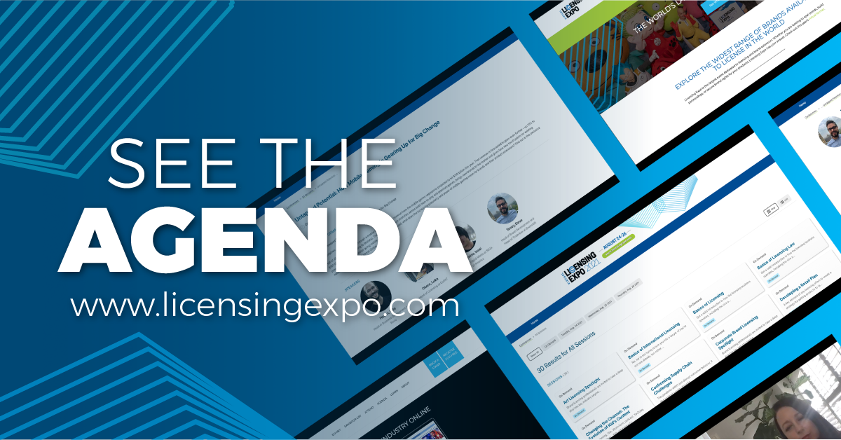 Licensing Expo Virtual Reveals 2021 Agenda