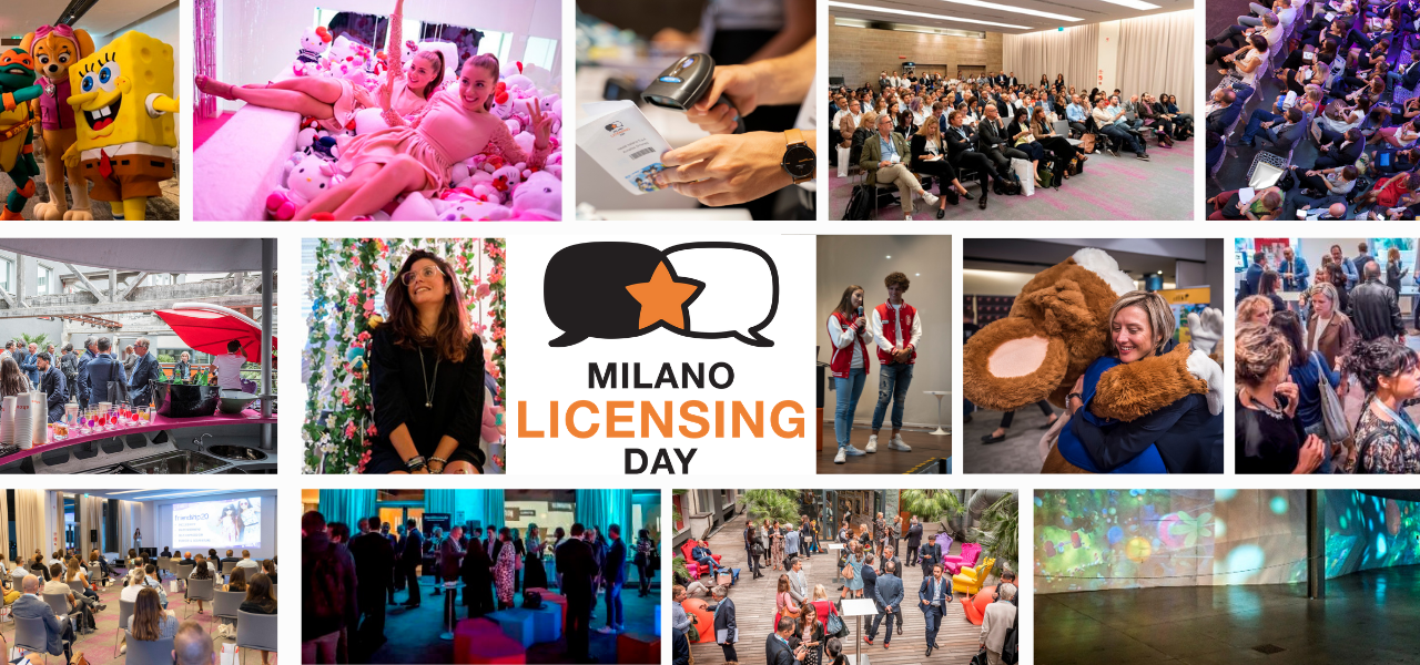 Milano Licensing Day is set to Go with all exhibitor spaces sold out!