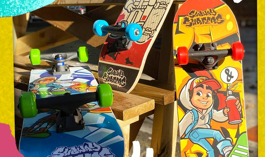 Subway Surfers Wheeled Goods Skate to Retail in Europe
