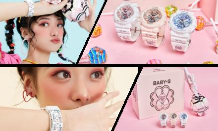 Casio Baby-G and Chupa Chups in Maya Hansen Capsule Collection