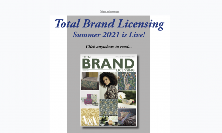Total Brand Licensing Summer is live!