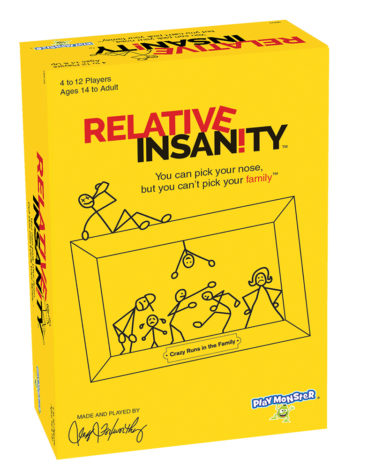 PlayMonster's Relative Insanity Game Hits One Million Games Sold