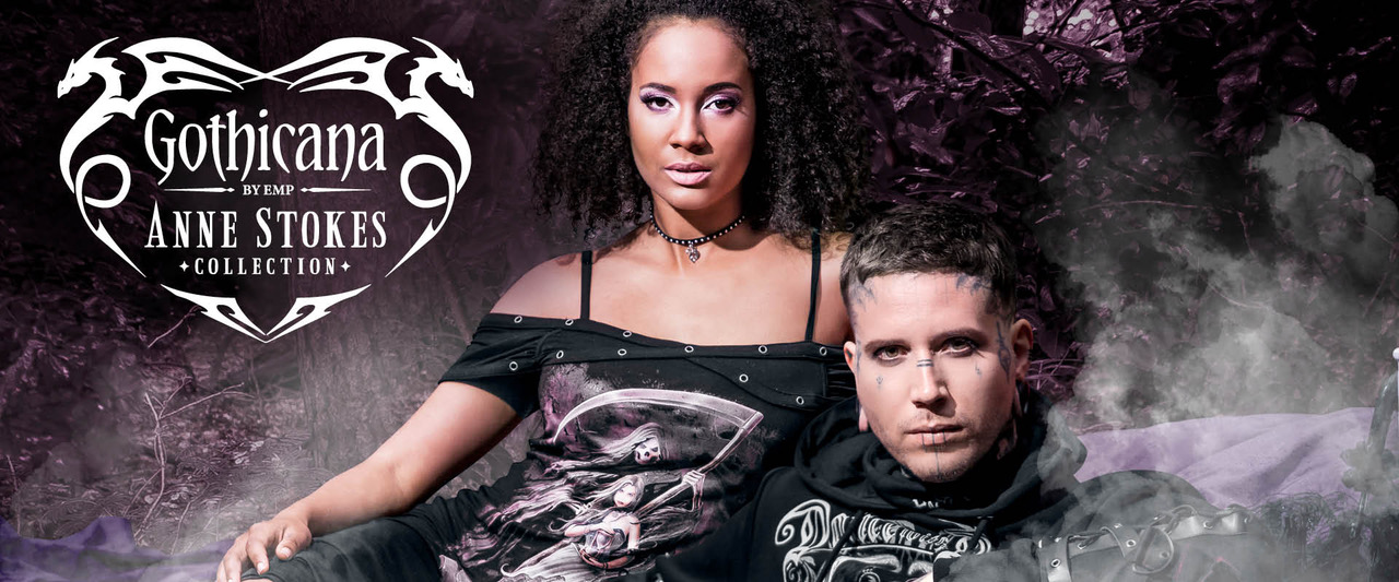 Gothicana and Anne Stokes by EMP Launches