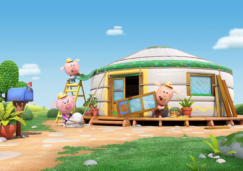 Xilam Group Brings Two Brand New CGI Series to Cartoon Forum