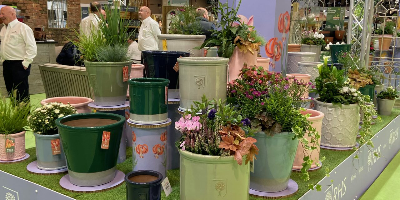 Woodlodge and the RHS launch outdoor pot collaboration at Glee