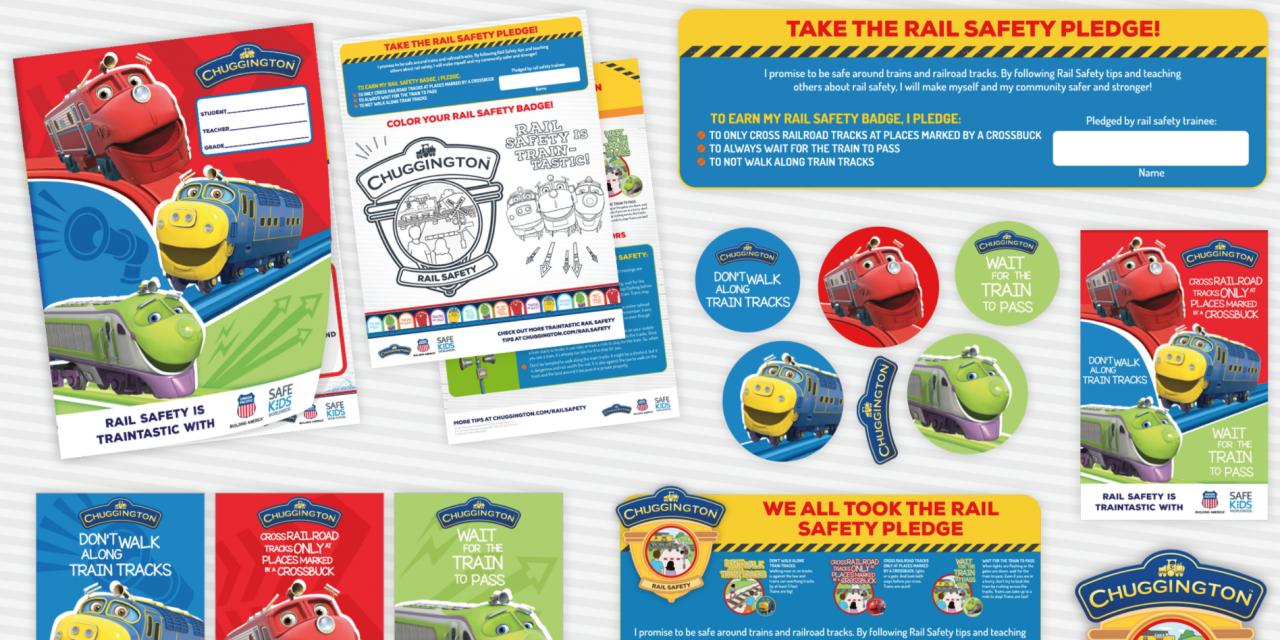 Chuggington on Track for US National Rail Safety Week