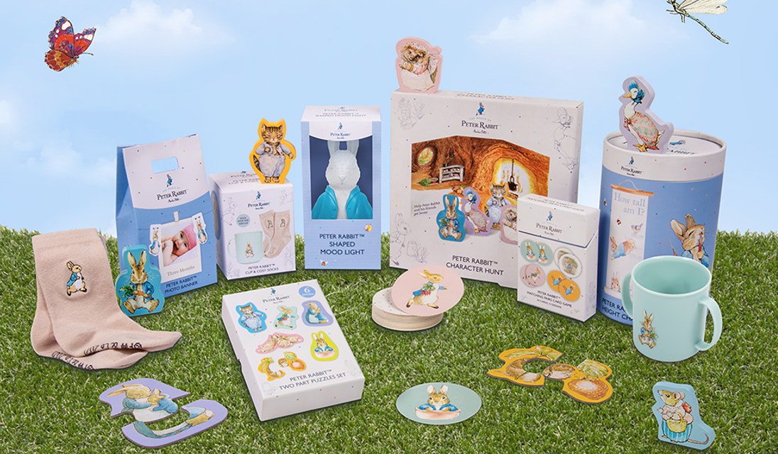 Fizz Creations hops in with Peter Rabbit