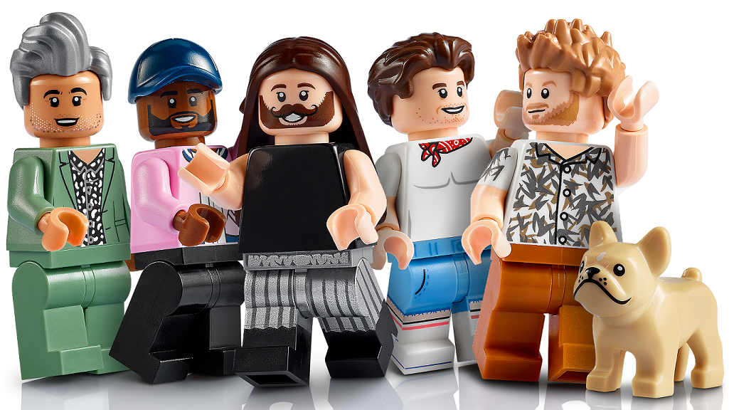 The LEGO Group and Queer Eye reveal set celebrating Creative Expression and Promote Positivity