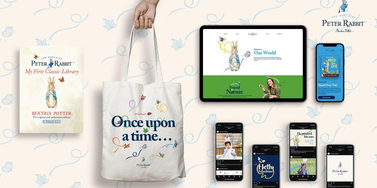 Brand Refresh for Peter Rabbit