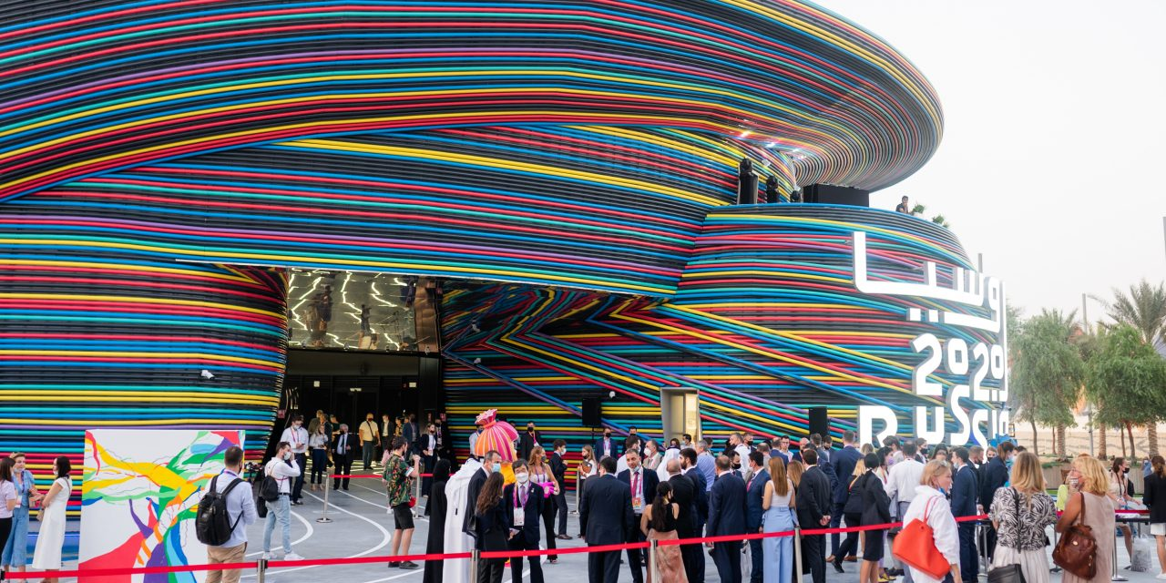 Riki Group's The Fixies open the Russian Pavilion at Expo 2020 in Dubai