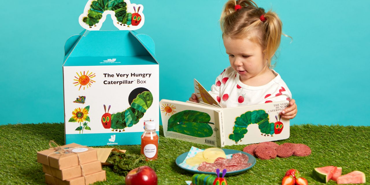 Deliveroo partners with The Very Hungry Caterpillar