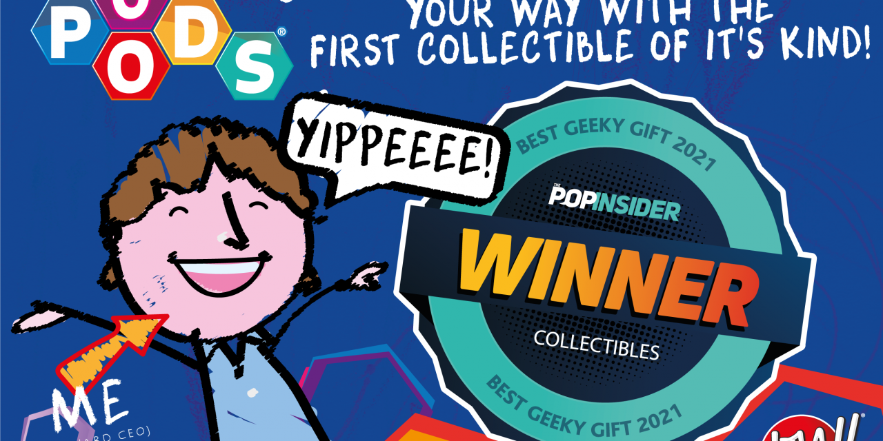 wow! Pods Wins Best Collectibles Award in USA