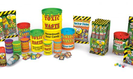 Surge Brands Signs New Licensees for Candy Phenom Toxic Waste