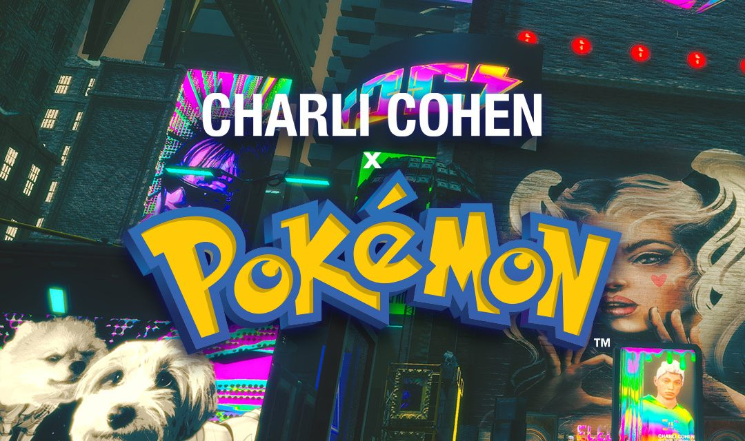 Yahoo Ryot Lab, Charli Cohen and Selfridges create virtual 3D experience for limited edition Charli Cohen x Pokémon collection