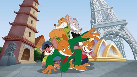 Geronimo Stilton comes to US and UK audiences for the first time